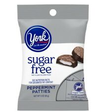 Hershey's Sugar Free York Peppermint Patties Chocolate Candy Travel Ind Wrapped