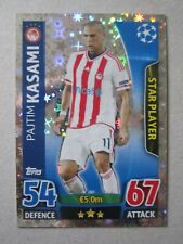 Champions League 2015/16 Star Player card Pajtim Kasami of Olympiakos