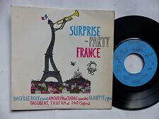 PUB France Lait Surprise party PIERRE SPIERS Bastille Rock .. Dessin JEAN EFFEL