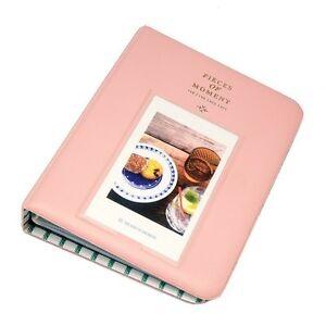 Fuji Instax Photo Album-Mini 9 8 8+ 70 90 7s 25 26 50s/Pringo 231/Polaroid -Pink
