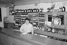 "1940 Bar & Barkeeper, Penasco, New Mexico Vintage Old Photo 13"" x 19"" Reprint"