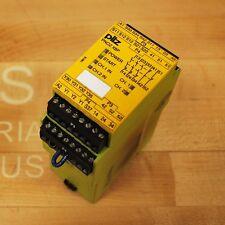 pilz PNOZX8P Safety Relay. #777760 PNOZ-X8P-24VDC-3N/O-2N/C. - USED