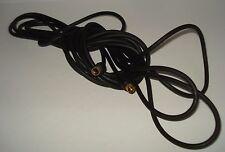 Câble s-vidéo s-vhs plaqué or  ,5 m , 4 broches mini DIN mâle / mâle plomb.