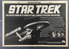 STAR TREK__Original 1978 Trade Print AD / poster / TV promo__The Motion Picture