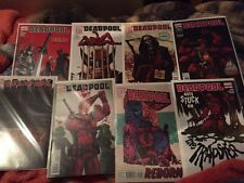 Deadpool 50-63 nm bagged boarded Way  Movie Coming Out X-men Comic Lot of 14