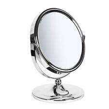Sabichi Makeup Bathroom New York Mirror - Metal - Silver, 12 x 16.5 x 20.5 cm