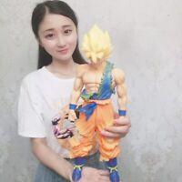 40-44cm Oversized Son Goku Vegeta PVC Action Figures Manga Dragon Ball Z MSP