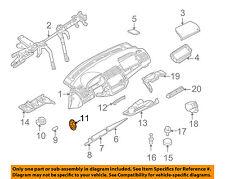 BMW OEM 00-06 X5 Instrument Panel Dash-Trim Molding Nut 64111364257