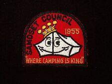 BOY SCOUT   CAMP TESOMAS  1955 PP  SAMOSET CNCL   WISC.