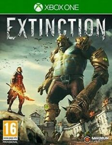 EXTINCTION XBOX ONE BRAND NEW AND SEALED