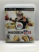 Madden NFL 11 (Sony PlayStation 3 PS3 - Complete w/ Manual - Tested Working