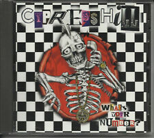 CYPRESS HILL  w/ RANCID What's your number RARE PROMO Radio DJ CD Single USA