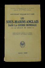 I Guerra Mondiale Storia Militaria Marina Sottomarini inglesi 1931