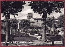 PESARO SANT'ANGELO IN VADO 01 MONUMENTO ai CADUTI Cartolina FOTOGR. viagg. 1961