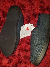 Taglia 7 nuova linea uomo 3M isolamento di lusso Pantofole Chiusura Velcro Blu Scuro