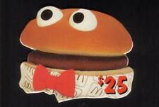 $25. McDonald's 1996: Soft Drink, Fries, Hamburger (Set of 3) Die-Cut Phone Card