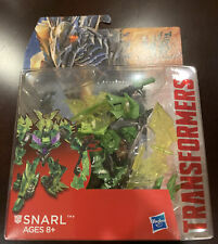 "NEW 2014 Transformers 4 Age Of Extinction ""SNARL""TOY ACTION FIGURE DELUXE CLASS"