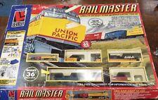 LIFE-LIKE RAILMASTER DIESEL UNION PACIFIC COMPLETE H.O. SCALE TRAIN SET #8901