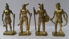 Metalfiguren Soldatini Kinder Serie Indiani gold