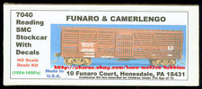 Funaro F&C 7040   READING Railroad  SMC Stockcar   RDG w/ K Brake System