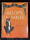 AESOP'S FABLES 1963 Vintage Scholastic Paperback retold by Ann McGovern