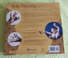 NEW Belly Dancing Book Brass Zills Music CD Dance KIT Exotic Sensuous Mesmerize