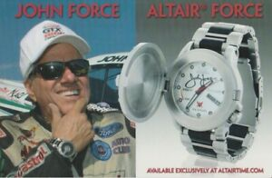2014 John Force Altair Force Watch NHRA Hero Card