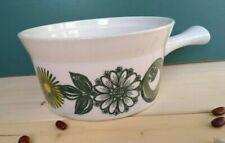 Vintage 70 S STAVANGERFLINT ildfast norwey stoneware casserole baking dish pot