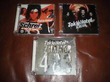 LOT 3 CD TOKIO HOTEL - SCREAM - SCHREI - ZIMMER 483