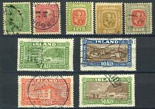 ICELAND Postage Stamp Collection ISLAND Europe Used