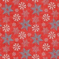 Henry Glass Cookies & Cocoa FLANNEL by Shelly Comiskey F6266 88 Red FREE US SHIP