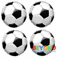 "Soccer Ball Happy Birthday Party Sparkle Mylar Foil Balloon 18"""
