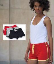 Womens Ladies Sizes 8-18 Girls 5-12 years Retro Training Fitness Sports Shorts