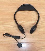 Genuine Altec Lansing Black Headphones For Sirius Stiletto Antenna 10, 100, & 2