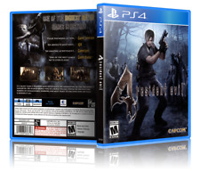 Resident Evil 4 - ReplacementPS4 Cover and Case. NO GAME!!