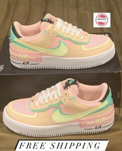 Nike Women's Air Force 1 Shadow 'Arctic Punch Barely Volt' CU8591-601 Sz 10 NEW