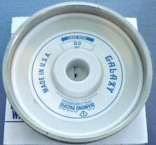 "rle 6"" GALAXY 80 GRIT WHEEL, GENUINE DIAMOND PACIFIC, for GENIE, OR CABKING"