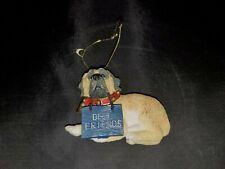 English Mastiff Best Friend Ornament