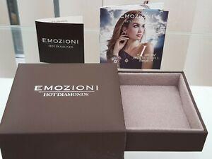 EMOZIONI HOT DIAMONDS JEWELLERY PRESENTATION BOX EMPTY New