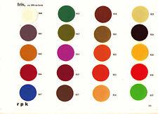 Buchbinder-Leinen/Buchleinen IRIS 0,5 m x 1 m Farbe frei wählbar