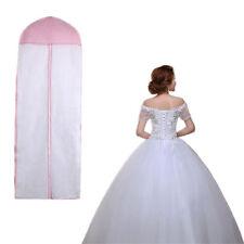 "61"" Breathable Wedding Prom XA Dress Garment Clothes Cover CI Dustproof Bag Zip"