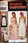 UNCUT Simplicity Sewing Pattern 9746 Colonial Pilgrim Dress Costume Sz 14 - 20