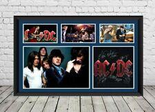 More details for ac dc signed photo poster autographed rock music memorabilia