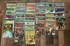 World War Hulk - Mixed Lot of 36 Marvel Comics / Bagged and boarded
