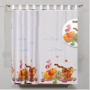 Luxury Disney WINNIE THE POOH Net Curtain  Top top 150CM X 157CM