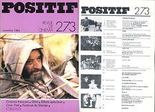 Positif N°273 - Cinéma français/Ermanno Olmi/Effets Spéciaux - novembre 1983