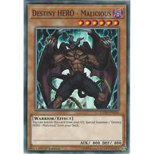 Yu-Gi-Oh Destiny HERO - Malicious - LEHD-ENA04 - Common Card - 1st Edition