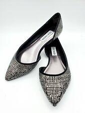 Steve Madden Women's ballet rhinestone black Elsie Size 6