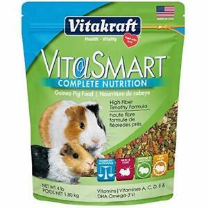 Vitakraft VitaSmart Complete Nutrition Guinea Pig Food (4 lbs)