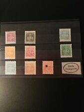TELÉGRAFOS 1932/36, ED 68/75 **MNH 1 serie +227T